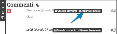 Moderare commenti