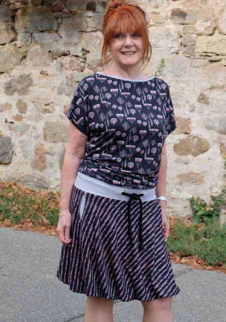 Katjuschka - Miss Balloony - Ballonkleid - Jerseykleid - eBook - Nähanleitung