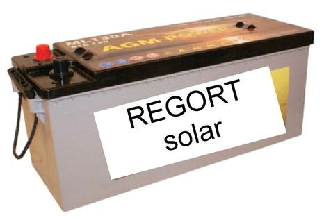 Solarbatterien von Regort, Solartechnik