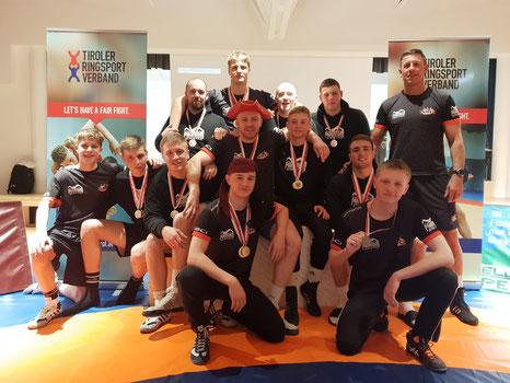 Unser Team nach den Freistilmeisterschaften