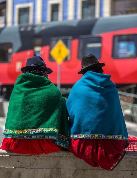 Eisenbahnfahren und kulturelles Erleben mit ECUADORline