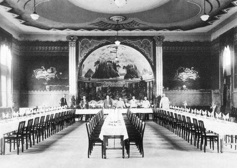 Der Ballsaal nach der Renovierung