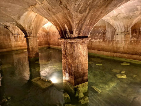 The ancient cisterns