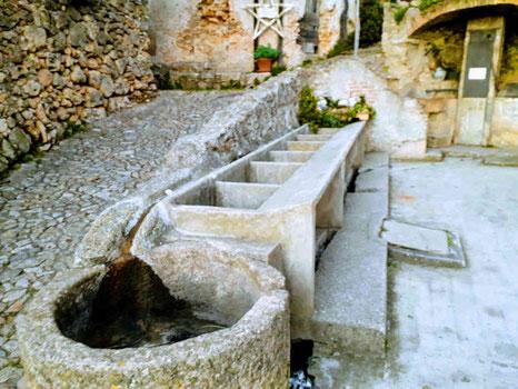 The Ancient Washhouse of Verezzi