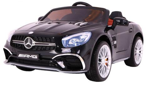 Mercedes AMG SL65/Kinderauto/Kinder Elektroauto/Kinderautos/Kinder Elektroautos/Kinder Auto/schwarz lackiert/lizensiert/