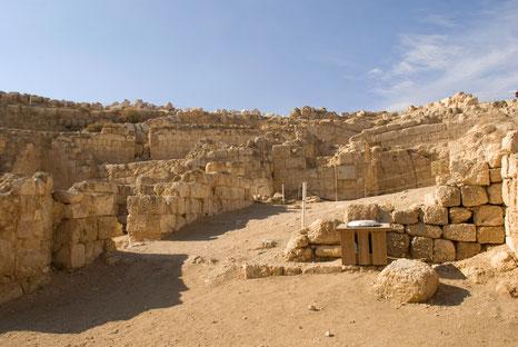 Ruinen der Festung Herodium