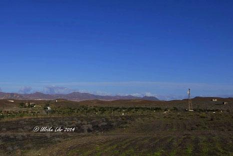 typische Insellandschaft auf Fuerteventura