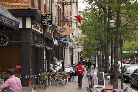 Auf der Market St. in Philadelphia PA