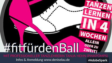 Tanzen lernen in 4 Wochen mit Tanja Hehn (PinkPömps)