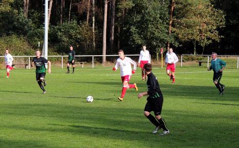 Es war ein kämpferisches Spiel gegen die SV Heide Burgstall 1910 e.V.