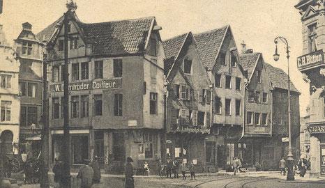 Der Drubbel vor dem Abriss 1906/1907
