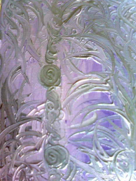 LEGAMI - 2011 olio su tela 13 x 18