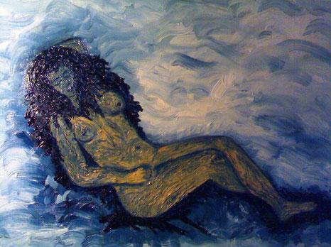 LEONA - 2010 olio su tela 35 x 45