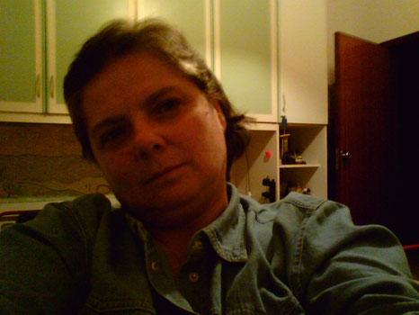 una mia foto scattata in quei mesi in uno dei miei brevi soggiorni nella mai ex casa, dai miei figli..