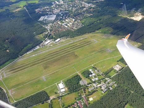 Campen und Übernachten nahe des Flugplatz Oerlinghausen
