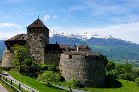 Castle Vaduz in Liechtenstein