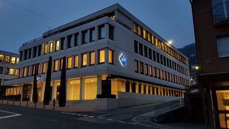 LGT Bank in Vaduz, Headquarters of LGT in Liechtenstein