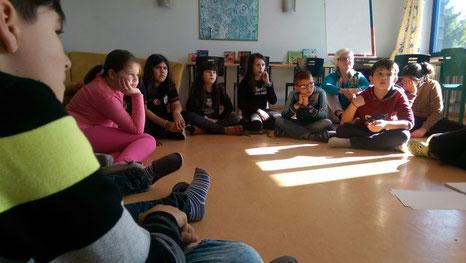 Kinder der zweiten Diesterweg-Generation in Offenbach (Bild: BSO)