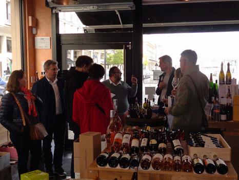 la caviste-dégustation-vins italiens