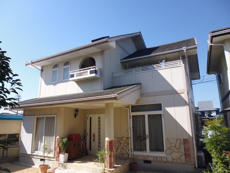熊本市N様家の塗装前BEFORE