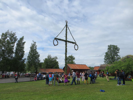 Midsommar in Uppsala