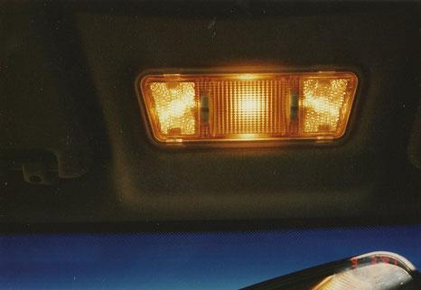 Deckenlampe aus Opel Omega