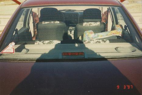 Lautsprecher Koax  Philips und 3. Bremsleuchte nach gerüstet, damals ganz modern