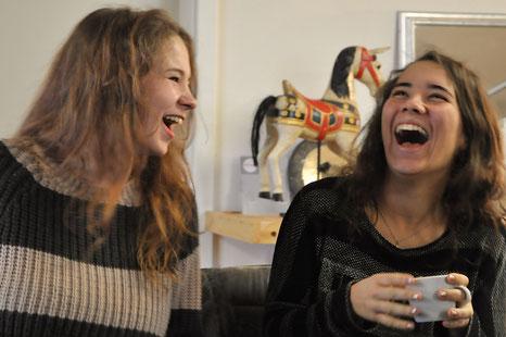 Marielle Faber und Ananda Lerch-Holz - NeuroScanBalance Feinmotorik Trainer in Ausbildung