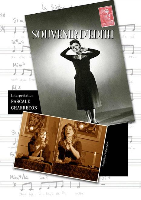Souvenir d'Edith Hommage à Piaf avec Patricia Perlès, photo Gérard Michel Duthel