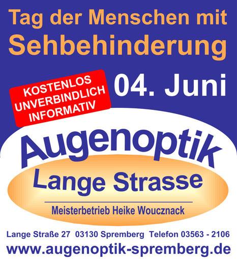 Der Tag der Menschen mit Sehbehinderung 2015 in Spremberg
