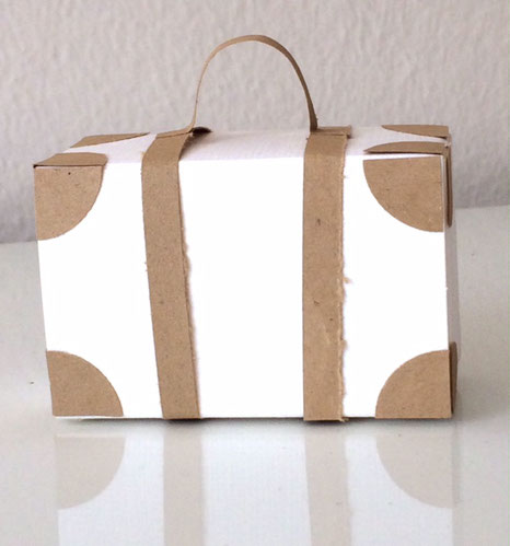 Koffer Geschenkschachtel