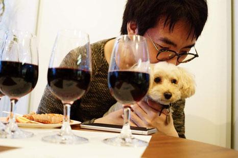 犬連れ ワークショップ ワインセミナー