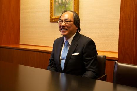 仲谷氏の任期は4年 世界水準の大学を目指す