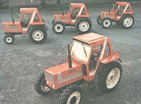 Traktoren der Serie 80 von Fiat