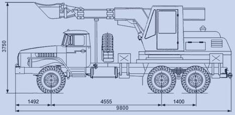 экскаватор-планировщик Антей EW-25-М1.200 характеристики