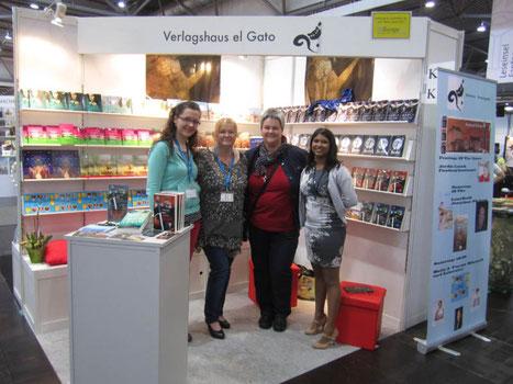 Claudi Feldhaus, Andrea el Gato (Verlegerin), Jordis, Lucie Müller