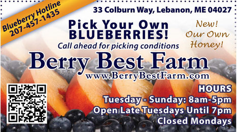 "Farmers' Market Ad, ""Foster's Daily Democrat"" Click to enlarge"