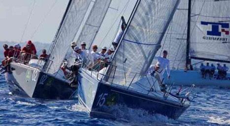 Dramatischer Segelboot-Wettkampf in der Karibik. Bild: Fremdenverkehrsamt Dominikanische Republik