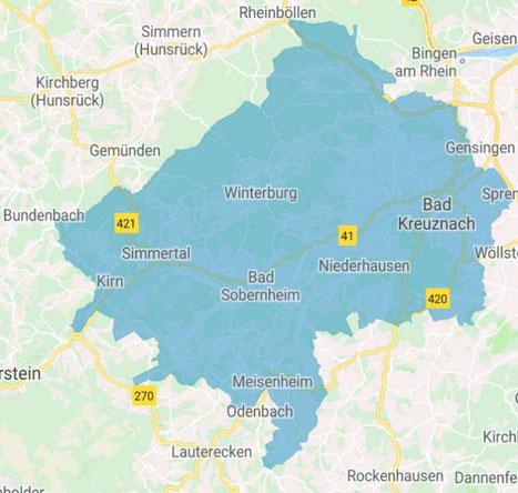 Fensterputzer Landkreis Bad Kreuznach