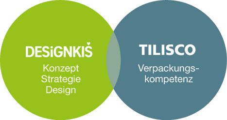 Designkis - Konzept - Strategie - Design & TILISCO - Machbarkeit - Umsetzung - Bio - Verpackung - Bioverpackung - Verpackungsstrategie