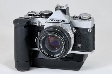 euer hochzeitsfotograf - mein equipment - olympus om 2n mit zuiko 50mm f.1.8 und winder