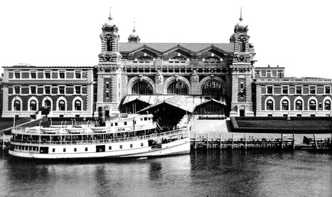 Ellis Island, early 1900s