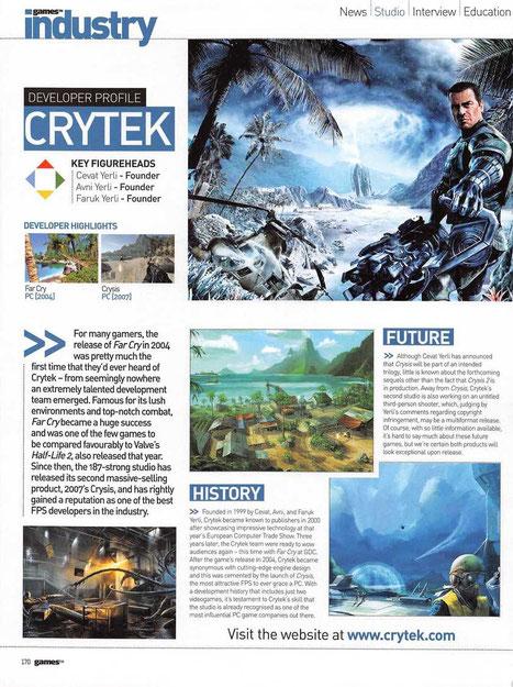 Magazine review - Games tm (2008)