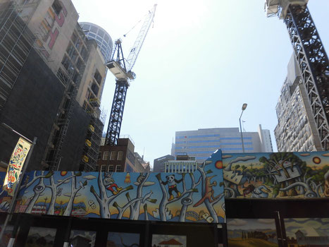 アートな建設現場