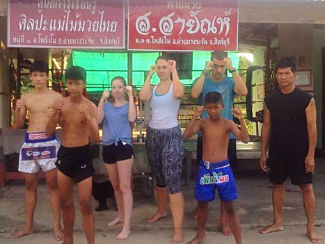 Thaibox Camp in Thailand
