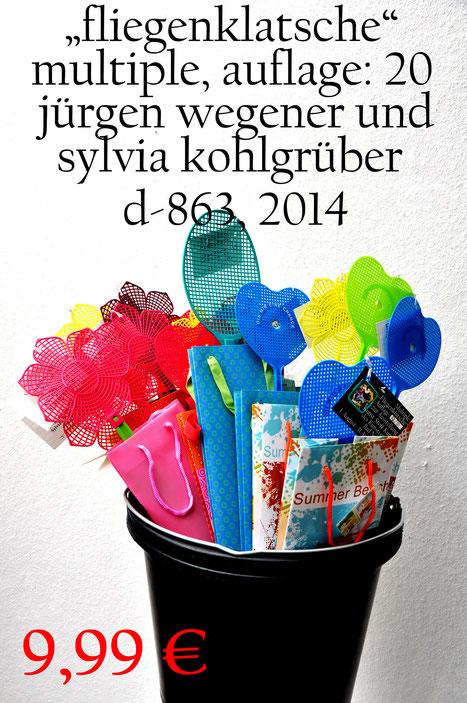 Jürgen Wegener und Sylvia Kohlgrüber: Kunststoff-Objekt -  d 863 a
