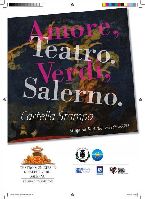 STAGIONE TEATRALE 2016 / 2017 TEATRO COMUNALE GIUSEPPE VERDI DI SALERNO