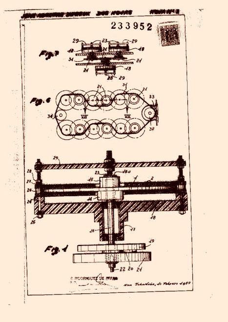 Générateur de conception Dereux daté 1957