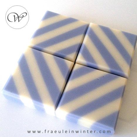 Stripes - Handmade soap by Fraeulein Winter