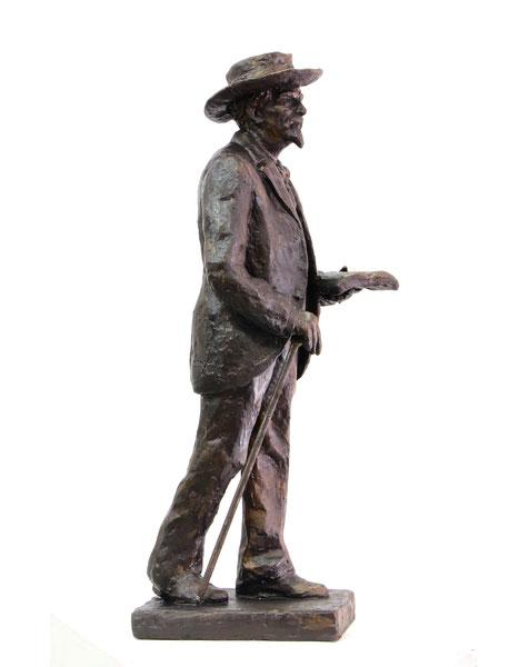 Maquette en bronze de Frédéric Mistral
